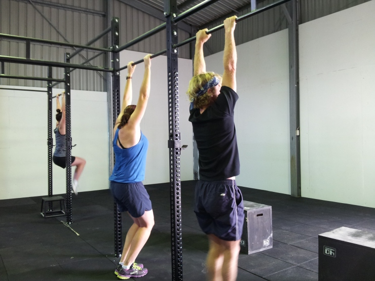 our first ever class at CrossFit Gympie