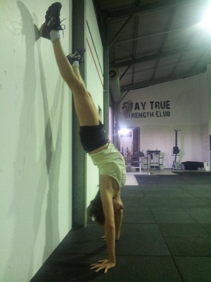 CrossFit Gympie Handstands