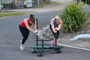 Partner Sled Push 06/04/2015