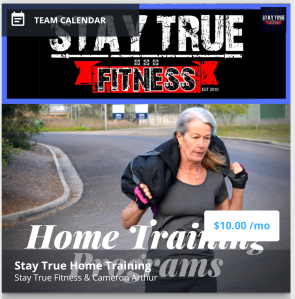 Join our Free Home Training App – Stay True Health & Fitness