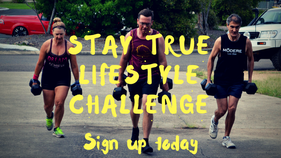 Join the stay true lifestyle challenge